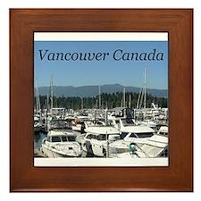 Beautiful Vancouver B.C Framed Tile