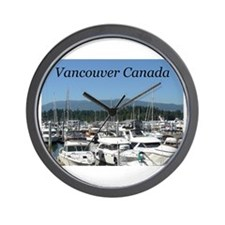 Beautiful Vancouver B.C Wall Clock