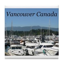 Beautiful Vancouver B.C Tile Coaster