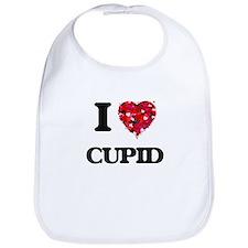 I love Cupid Bib