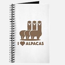 I Love Alpacas Journal