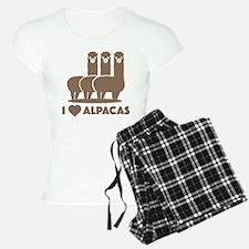 I Love Alpacas Pajamas