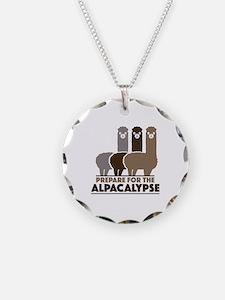 Prepare For The Alpacalypse Necklace