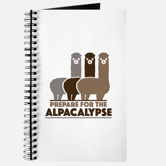 Prepare For The Alpacalypse Journal
