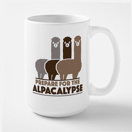 Prepare For The Alpacalypse Large Mug