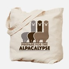 Prepare For The Alpacalypse Tote Bag