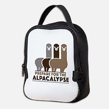 Prepare For The Alpacalypse Neoprene Lunch Bag