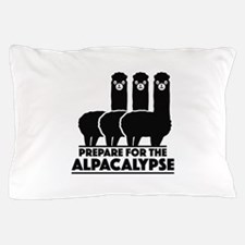 Prepare For The Alpacalypse Pillow Case