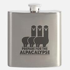 Prepare For The Alpacalypse Flask