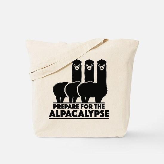 Prepare For The Alpacalypse Tote Bag