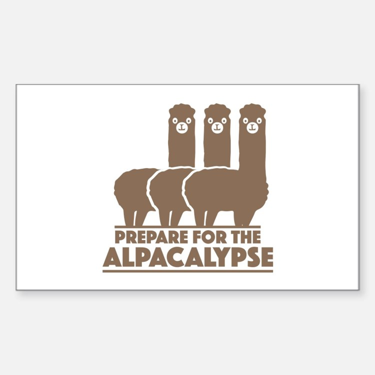 Prepare For The Alpacalypse Decal