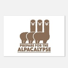 Prepare For The Alpacalypse Postcards (Package of