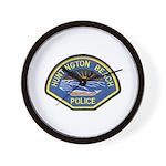 Huntington Beach Police Wall Clock