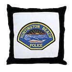 Huntington Beach Police Throw Pillow