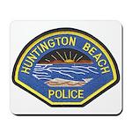 Huntington Beach Police Mousepad