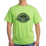 Huntington Beach Police Green T-Shirt