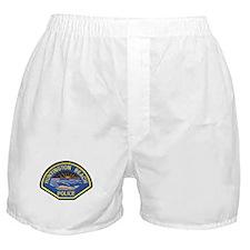 Huntington Beach Police Boxer Shorts