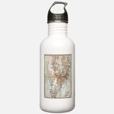 Vintage Map of Halifax Water Bottle