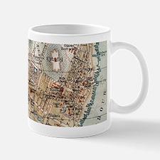 Vintage Map of Halifax Nova Scotia (1890) Mugs