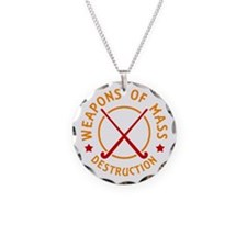 Field Hockey Weapons of Destruction Necklace