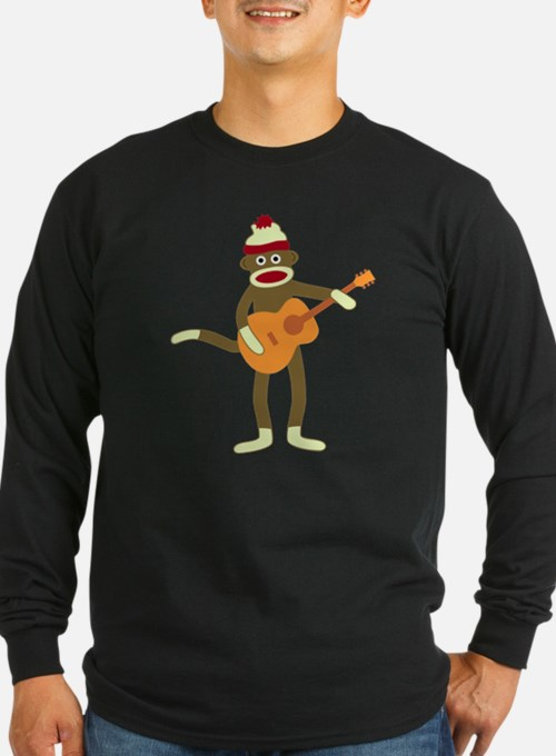 Sock Monkey Guitar T