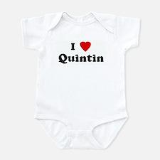 I Love Quintin Infant Bodysuit