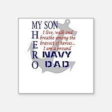 Navy Dad Sticker
