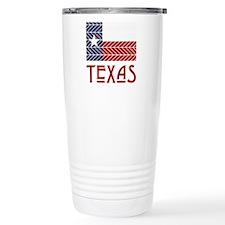 Lone Star Chevron Travel Mug