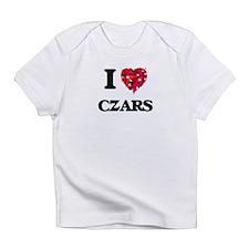 I love Czars Infant T-Shirt