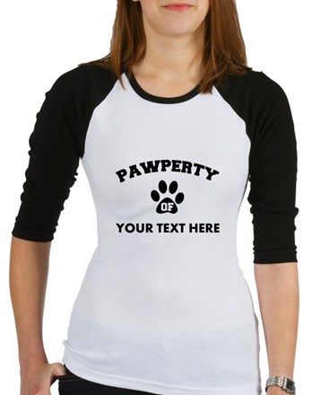 Personalized Dog Pawperty Shirt