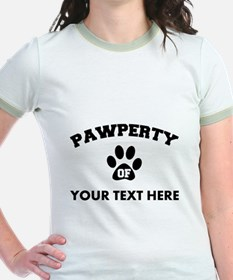Personalized Dog Pawperty T