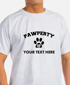 Personalized Dog Pawperty T-Shirt