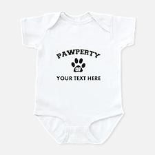 Personalized Dog Pawperty Infant Bodysuit