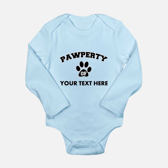 Personalized Dog Pawpe Onesie Romper Suit