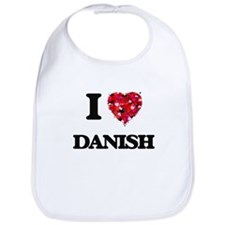 I love Danish Bib