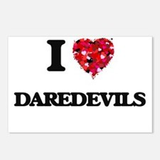 I love Daredevils Postcards (Package of 8)