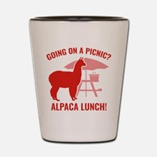 Going On A Picnic? Shot Glass