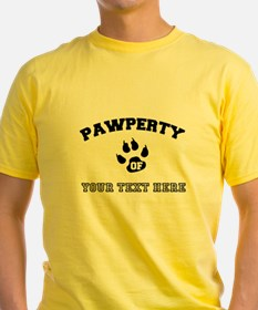 Personalized Cat Pawperty T