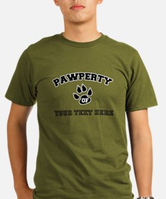 Personalized Cat Pawp T-Shirt