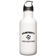 Personalized Cat Pawpe Water Bottle