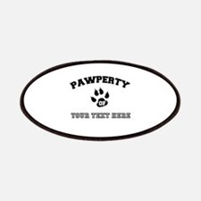 Personalized Cat Pawperty Patch