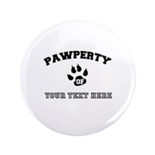Personalized Cat Pawperty Button