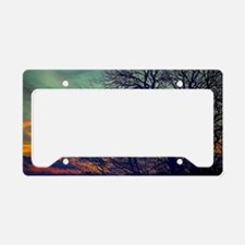 Cute Skyscapes License Plate Holder