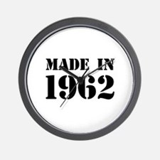 Made in 1962 Wall Clock
