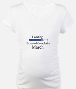 Baby Boy Loading Expected March Shirt