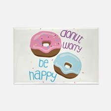 Donut Worry Magnets