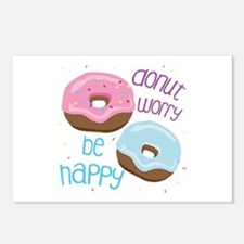 Donut Worry Postcards (Package of 8)