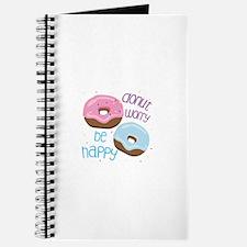 Donut Worry Journal