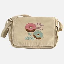 Donut Worry Messenger Bag