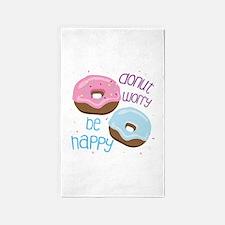 Donut Worry Area Rug